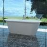 Akmens masės vonia VISPOOL ACCENT 167 x 71 cm