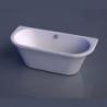 Akmens masės vonia VISPOOL ONDA 175 x 76 cm