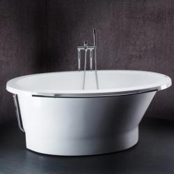 Akmens masės vonia VISPOOL SOLARE 178 x 107 cm