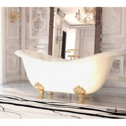 Akmens masės vonia VISPOOL IMPERO 195 x 90 cm