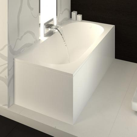 Akmens masės vonia VISPOOL LIBERO 170, 180 cm