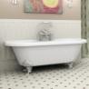 Akmens masės vonia VISPOOL ASTORIA 170 x 76 cm