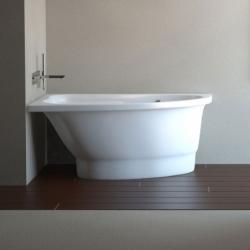 Akmens masės vonia VISPOOL MIA 140 x 90 cm