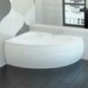 Akmens masės vonia VISPOOL PICCOLA 154 x 100 cm