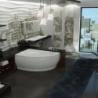 Akmens masės vonia VISPOOL LAGO 149 x 103 cm