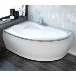 Akmens masės vonia VISPOOL MAREA 169 x 114 cm
