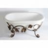Akmens masės vonia VISPOOL LILU 80 x 42 cm