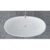 Akmens masės vonia VISPOOL GLORIA 184 x 90 cm