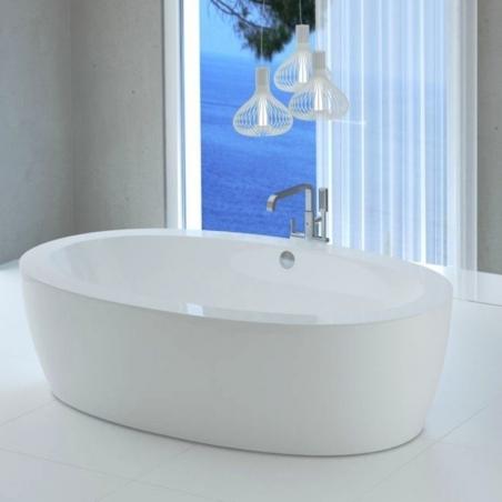 Akmens masės vonia VISPOOL FESTA 203 x 109 cm