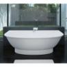 Akmens masės vonia VISPOOL GEMMA-3R 195 x 101 cm