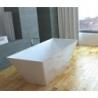 Akmens masės vonia VISPOOL QUADRO 175 x 80 cm