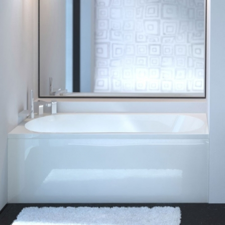 Akmens masės vonia VISPOOL VIANA 160 x 70 cm