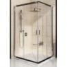 Kvadratinė dušo kabina RAVAK BLIX BLRV2K+BLRV2K