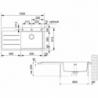 Akmens masės plautuvė FRANKE MTF 611-100